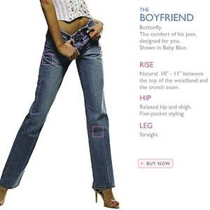 ⬇️$50 Victoria's Secret London Jean Boyfriend 10
